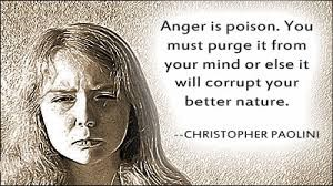 anger is poison